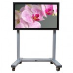 Fixed Height TV Trolley - Hi-Lo Duo 1200-1600mm