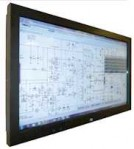 "Genee 55"" Touch screen"