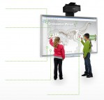 SMART Board M680 with SMART UF70 Projector and SMART SBA-L Speakers Bundle