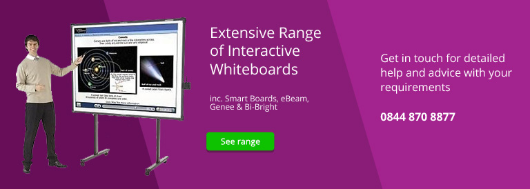 Interactive Whiteboards & Smartboards